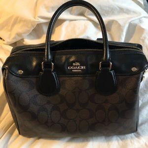 Brown Coach Handbag